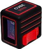 AdirPro Cube Mini Line Laser, Black/Red
