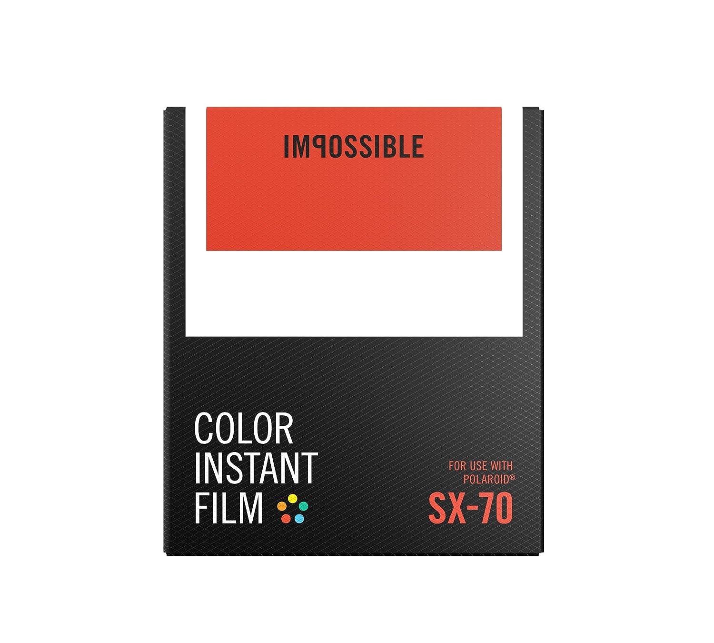 Impossible SX-70 8pieza(s) 88 x 107mm Película Instantáneas - Película Fotográfica Instantánea (8 Pieza(s)) PRD4512