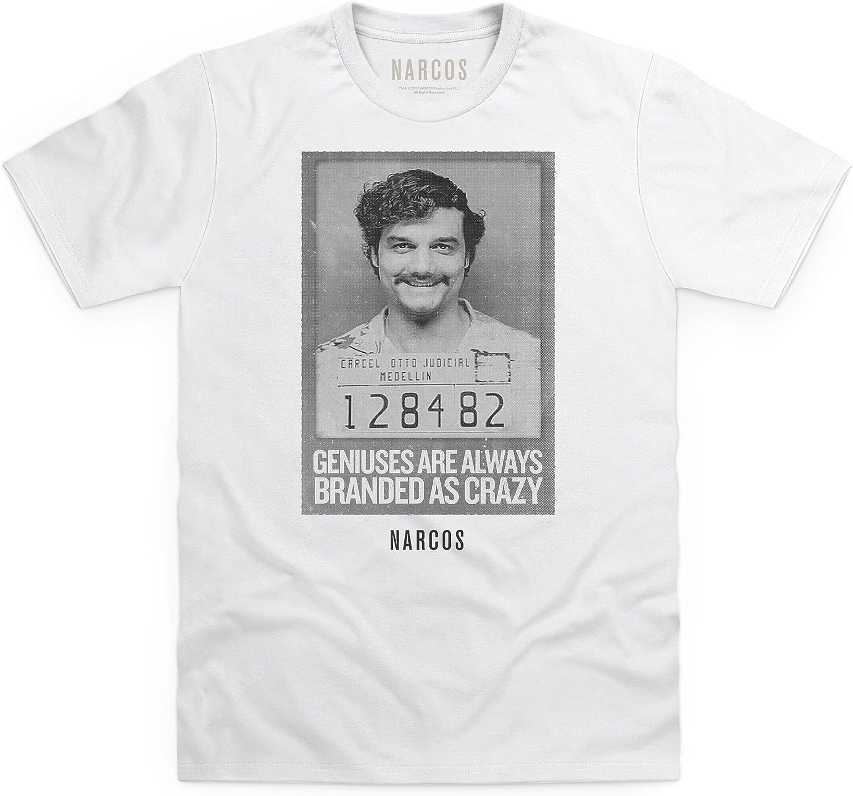 Official Narcos Pablo Escobar Camiseta, para Hombre: Amazon.es: Ropa y accesorios