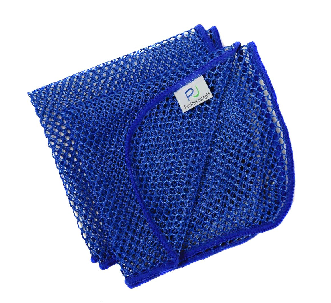 DishMesh Premium Kitchen Dish Towel and Scrubber Scourer Scratch Free Quick Wash and Dry No Odor Mesh Net for Dishes Counters Bacteria Resistant