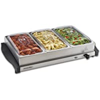Proctor Silex 34300 2.2 Quart Stainless Steel Buffet Server & Food Warming Tray