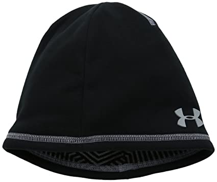 01657e32c4b promo code under armour boys elements 2.0 beanie black 001 steel one 262f3  1ccb1