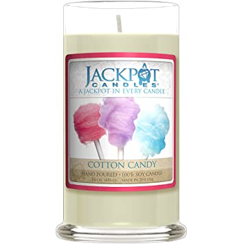 Amazon.com: Cotton Candy Candle with Ring Inside (Surprise Jewelry ...