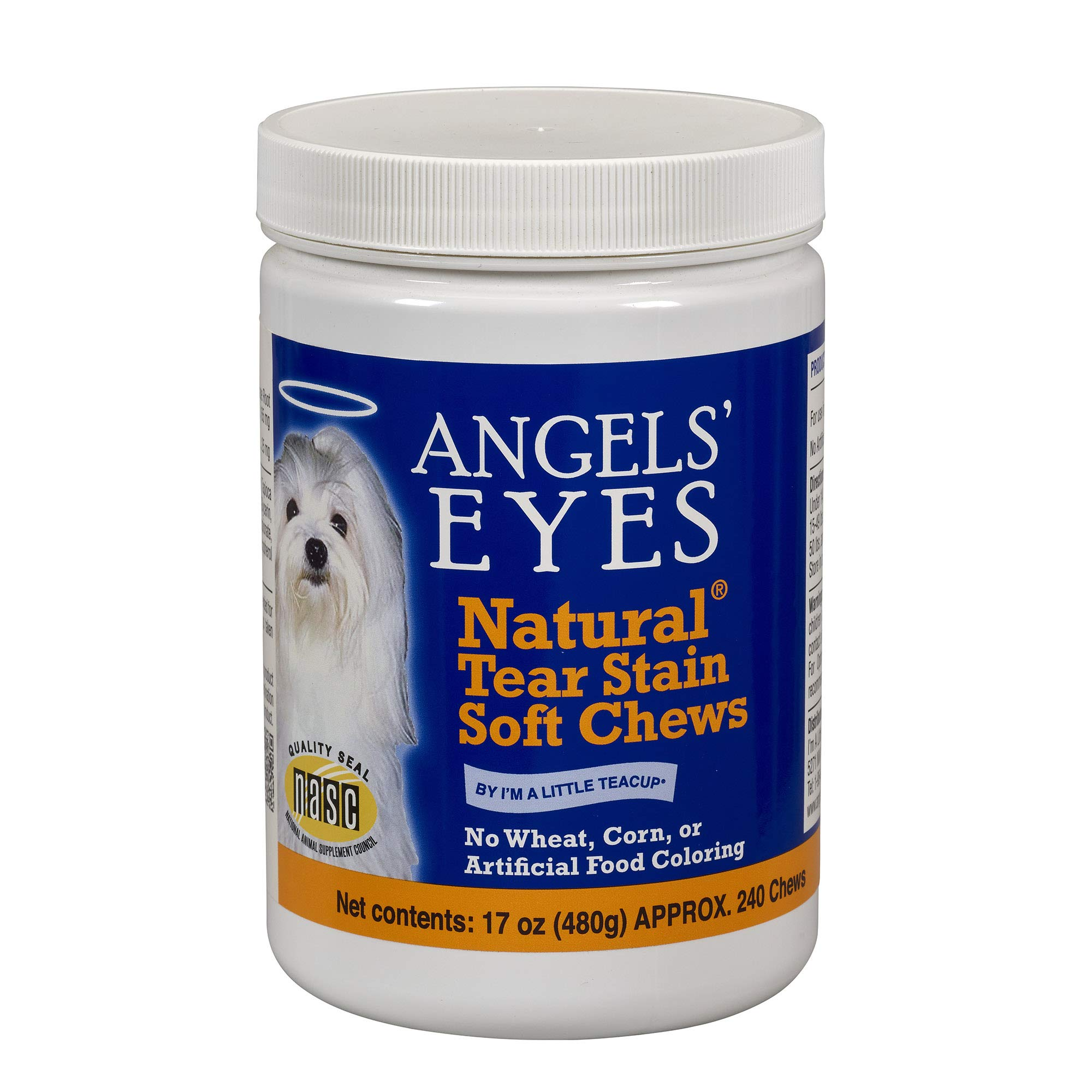 ANGELS' Eyes 240 Count Natural Chicken Formula Soft Chews for Dogs by ANGELS' EYES