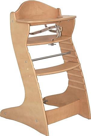 Roba Hochstuhl Gurt.Roba Treppenhochstuhl Chair Up Mitwachsender Hochstuhl Für Babys Kinder Kinderhochstuhl Holz Natur