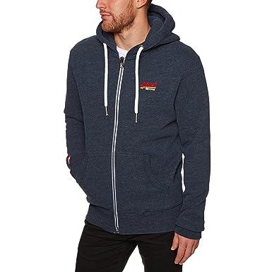 Superdry Men s Orange Label Cali Zip Hoodie Sweatshirt at Amazon Men s  Clothing store  199b7bf76061
