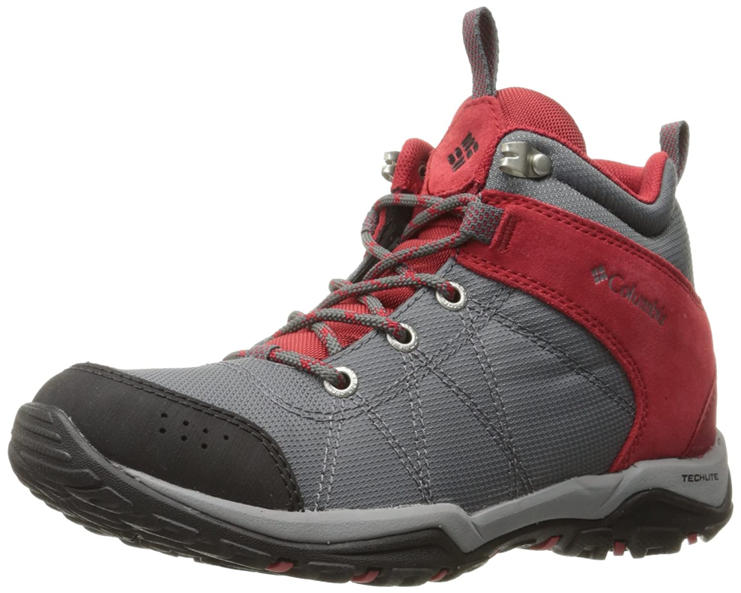 25d44a6f4ab Columbia Women's Fire Venture Mid Textile Hiking Boot, Tin Grey ...
