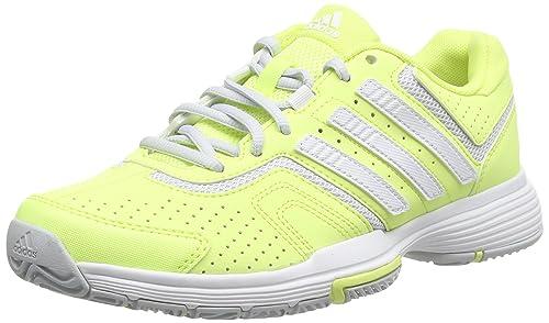 adidasBarricade Court W - Zapatillas De Tenis mujer, Giallo (froyel/ftwwh), 36 2/3: Amazon.es: Zapatos y complementos