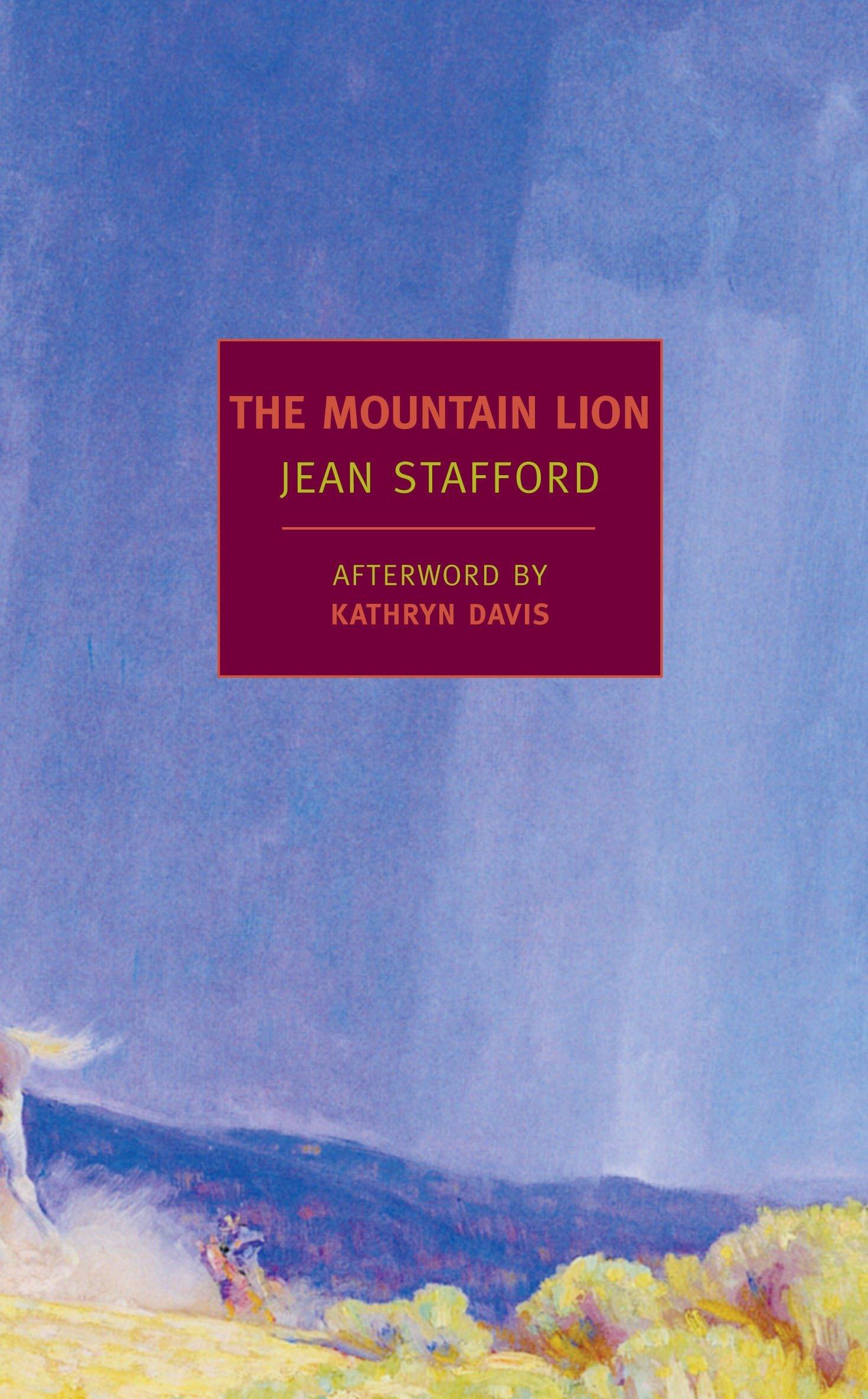 The Mountain Lion (New York Review Books Classics): Stafford, Jean, Davis,  Kathryn: 9781590173527: Amazon.com: Books