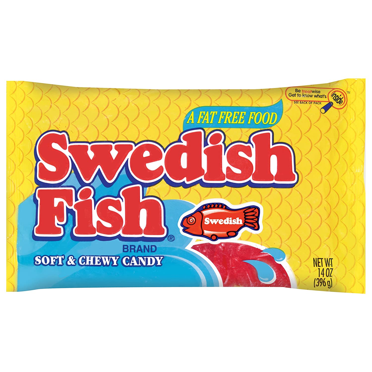 Amazon.com : Swedish Fish Soft & Chewy Candy (Original, 14-Ounce Bag ...