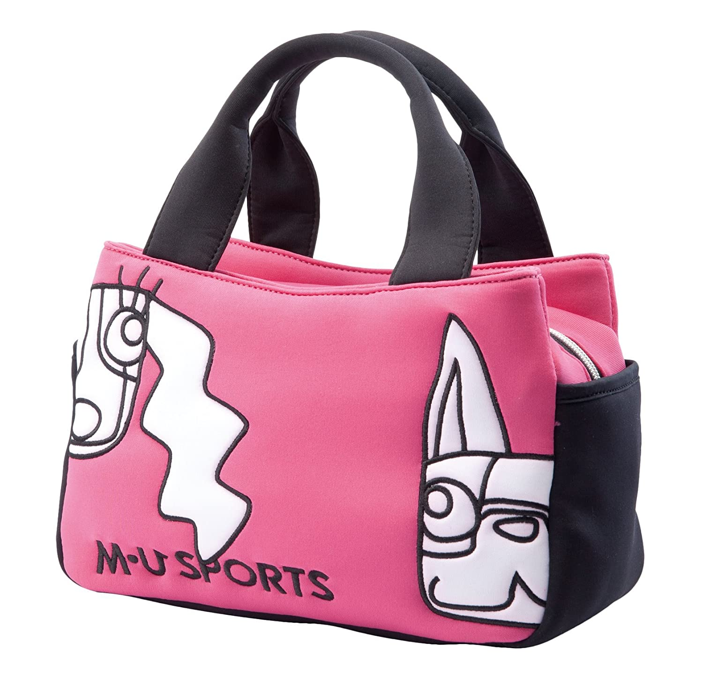 MU Sportsレディースポーチバッグ、703u2011 B075H3T7L2 ピンク ピンク