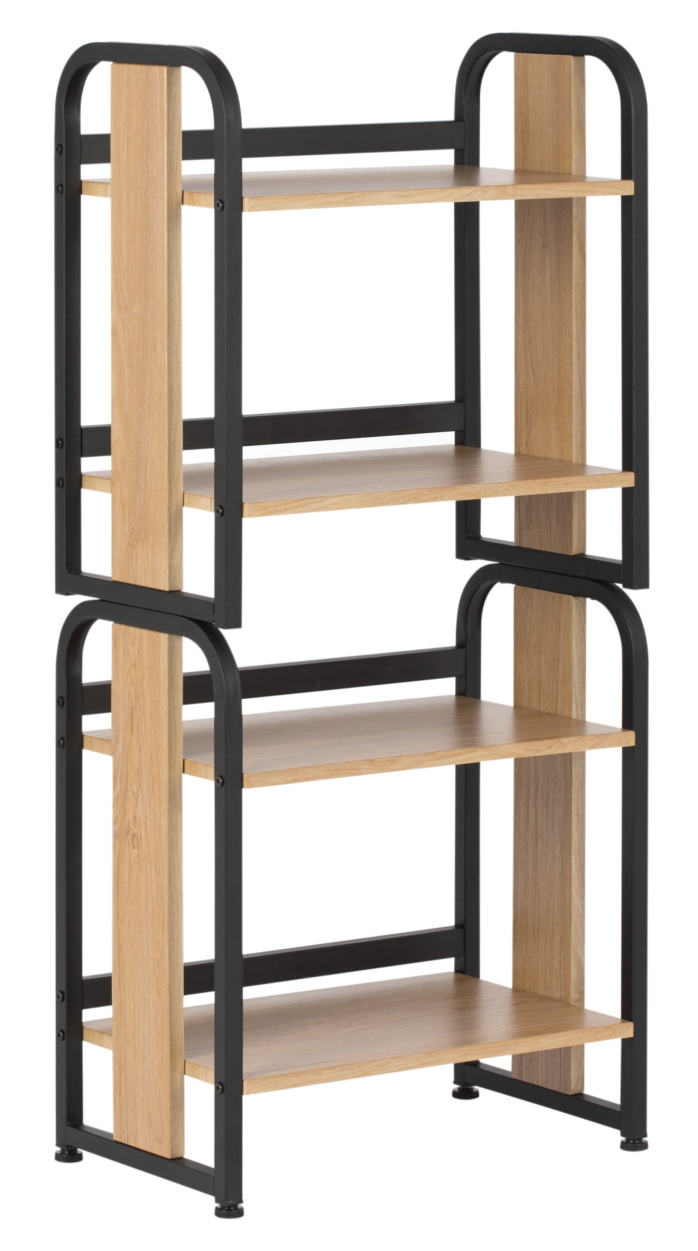 Calico Designs 51249 Modern Ashwood Stackable Bookshelf, Graphite Ashwood by Calico Designs (Image #1)