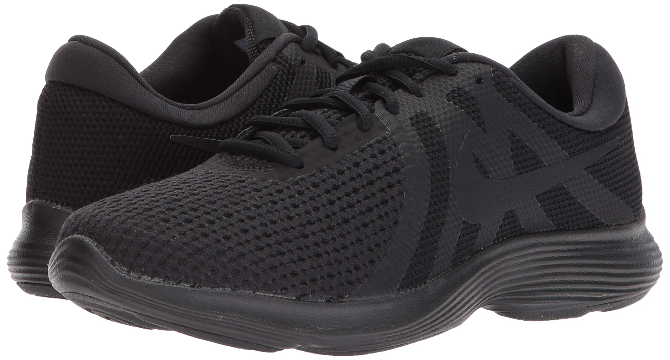 Nike Men's Revolution 4 Running Shoe, Black/White-Anthracite, 7 Regular US by Nike (Image #6)
