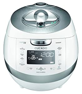 Cuckoo CRP-BHSS0609F Pressure Rice Cooker 14.7 x 10.6 x 10 inches White