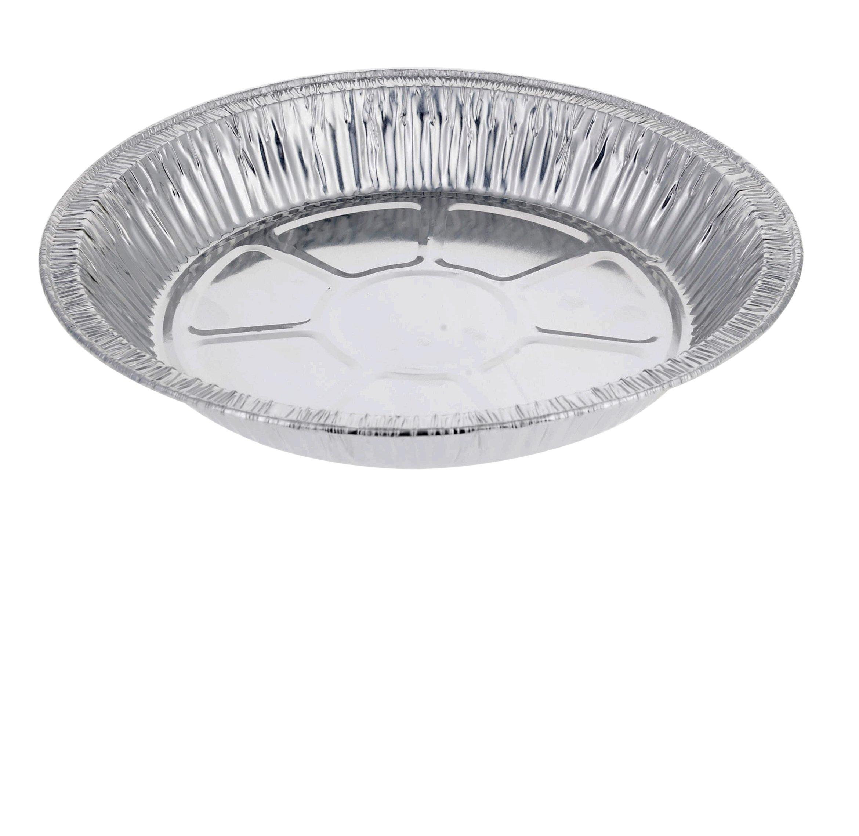 DOBI 9'' Pie Pans (30 Pack) - Disposable Aluminum Foil Pie Plates, Standard Size, 9'' x 1.25'' by DOBI (Image #4)