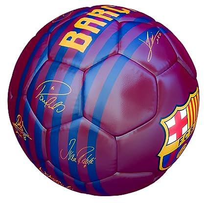 FCB Balon FC Barcelona Primera Equipacion 18 19 Rojo: Amazon.es ...