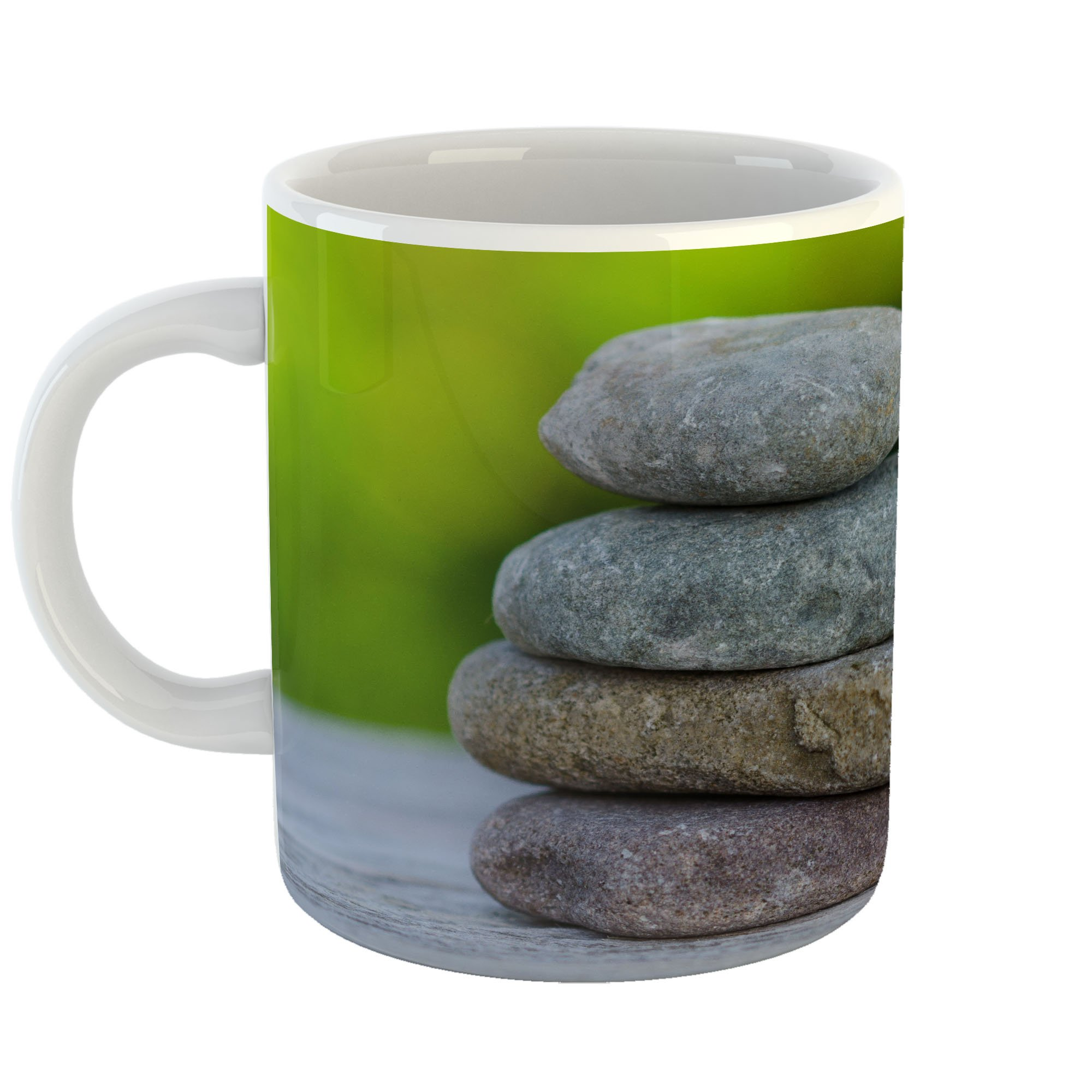 Westlake Art - Spa Rock - 11oz Coffee Cup Mug - Modern Picture Photography Artwork Home Office Birthday Gift - 11 Ounce (EFC8-01A6F)