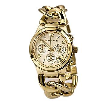 Ladies Michael Kors Chronograph Watch MK3131: Amazon.co.uk