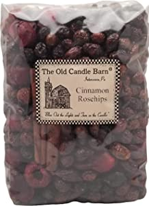 Old Candle Barn Cinnamon Rosehips Large Bag - Well Scented Potpourri - Made in USA