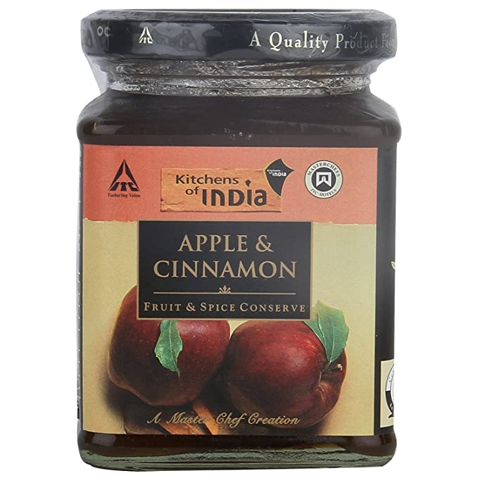 Kitchens Of India Apple And Cinnamon Conserve, 320g