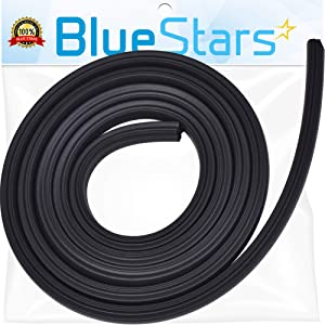 Ultra Durable 99002588 Door Seal Replacement Part by Blue Stars - Exact Fit For Frigidaire & Kenmore Dishwashers - Replaces WP99002588