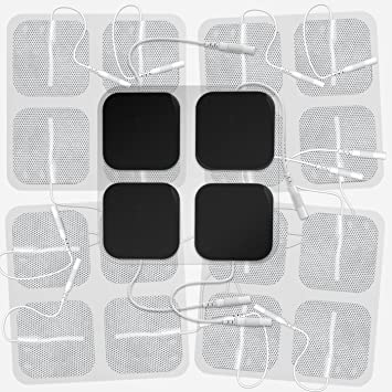 Reusable Tens Machine Massager Replacement Electrode Pads -10 pads (5 set) Academie - Aromatherapie Anti-Imperfections Treatment Oil - For Oily Skin -30ml/1oz