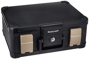 Top Honeywell 1103G Wasserdichter feuerfester Dokumentenkassette, 7.3 LV79