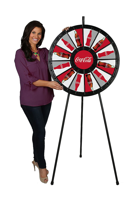 10 Slot Tabletop Micro Prize Wheel /(14 Inch Diameter