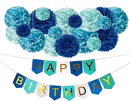 Amazon.com: Decoraciones de cumpleaños.: Toys & Games