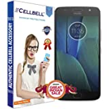 CELLBELL® Tempered Glass Screen Protector For Motorola Moto G5S Plus With FREE Installation Kit