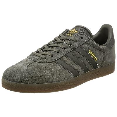 best loved f8a6c f8355 adidas Originals Gazelle, Utility Grey-Utility Grey-Gum