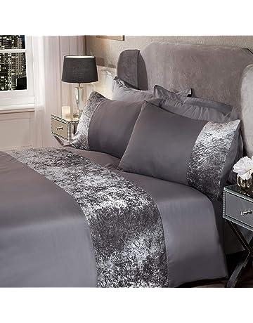 Dream Smile Luxury Duvet Set Pillow Bedding Quilt Cover Reversible Comfort Blank