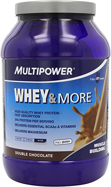Multipower Whey & More 2 kg: Amazon.es: Salud y cuidado personal