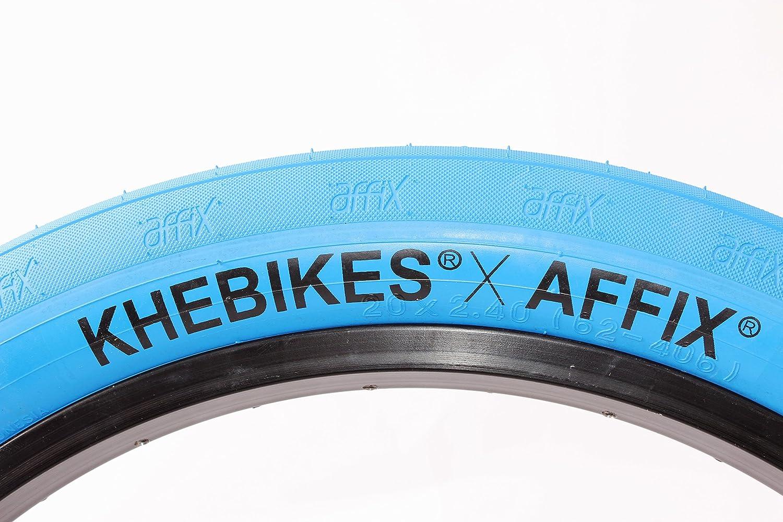 'KHE X affix fette BMX pneumatici Blu 20