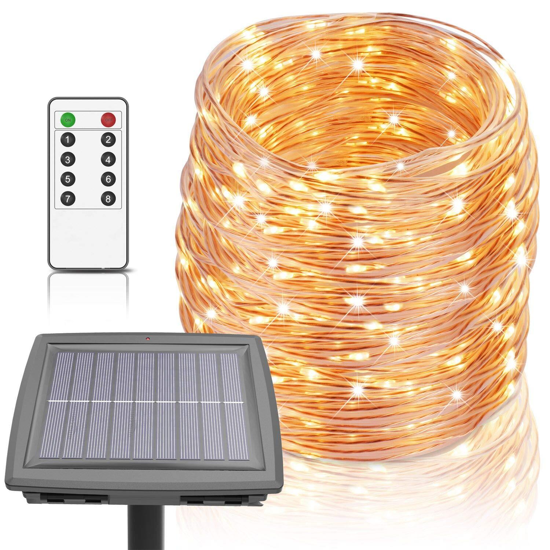 Homestarry Solar Rope Lights 100 Ft