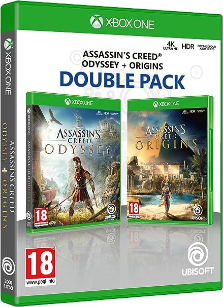 Double Pack: Assassins Creed Odyssey + Assassins Creed Origins: Amazon.es: Videojuegos
