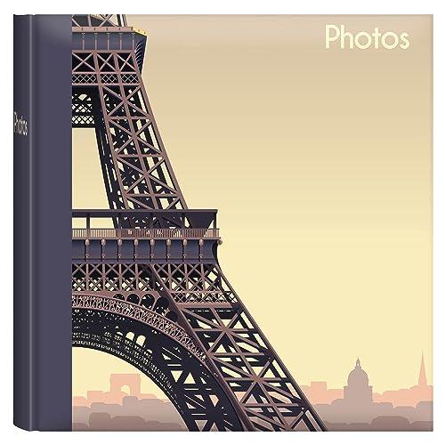 """Iconic Cities 6x4"""" Slip-in Photo Album -Eiffel Tower Paris"""