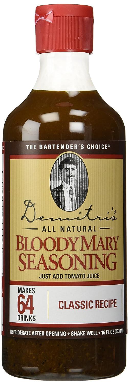 B002GD6BBQ Demitri's Classic Bloody Mary Seasoning Mix - 16 oz 81XngmWeBOL