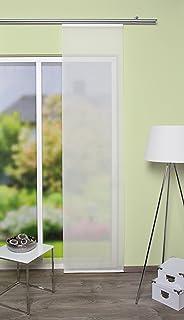 Home Fashion 86736 – 710 wollweiß H: 245 x B: 60 cm Panel japonés