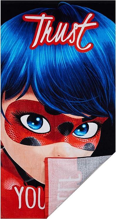 Suncity Toalla Playa Ladybug 70x140cm 84% algodón 14% Polyester 2% visco: Amazon.es: Hogar