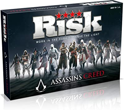 Winning Moves 09911 Risk Assassins Creed Amazon Co Uk Toys Games