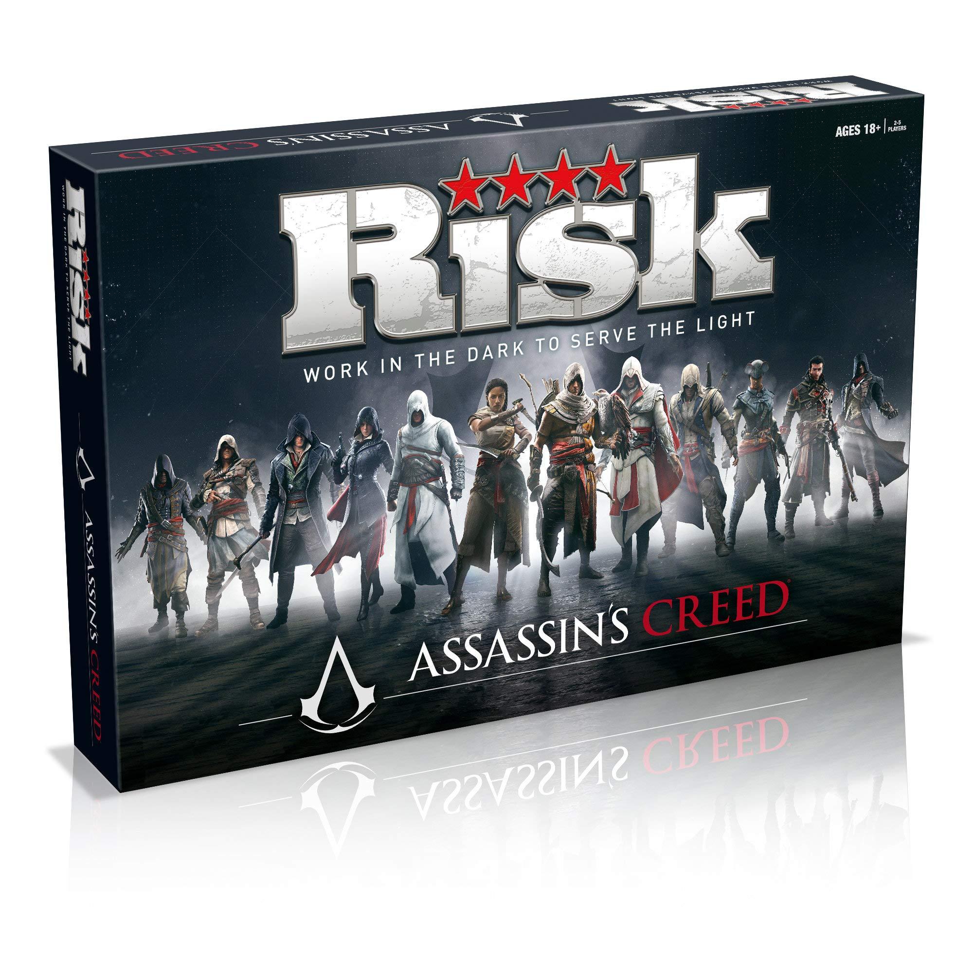Assassins Creed Risk Board Game: Amazon.es: Libros en idiomas ...
