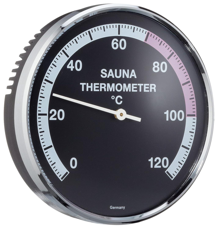 EOS Sauna Thermometer Ø 100 mm Measuring Range 0-120 °C Eos-Werke GmbH 90.5521