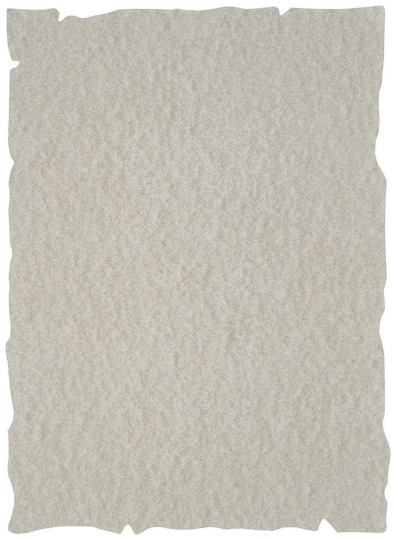 Liderpapel PW07 - Papel pergamino gris con bordes, A4, color gris pergamino 868c04