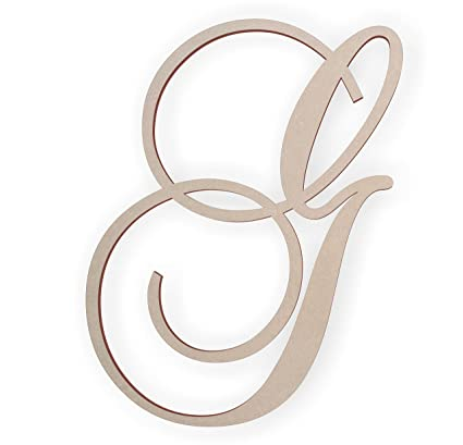 Amazon.com: Jess and Jessica Wooden Letter G, Wooden Monogram Wall