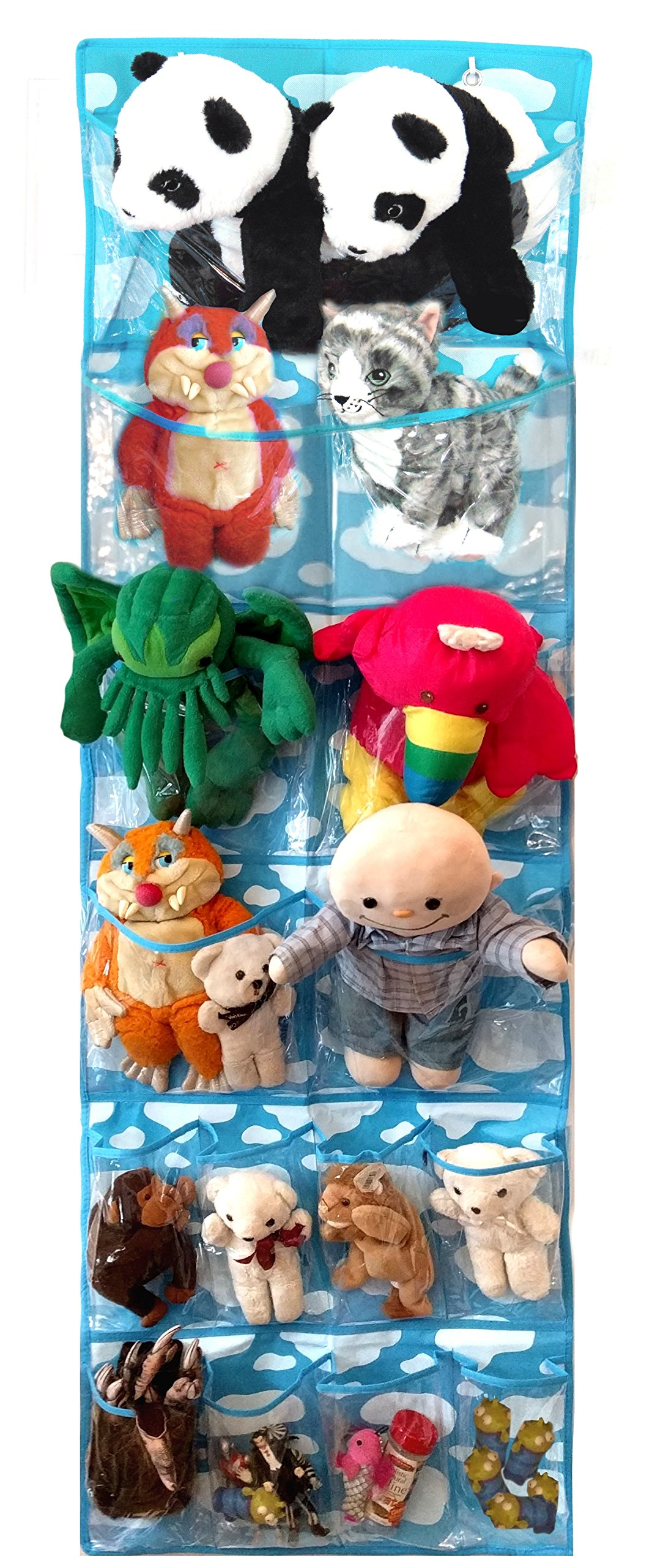 Nursery Hanging Organizer for Toys & Stuffed Animals