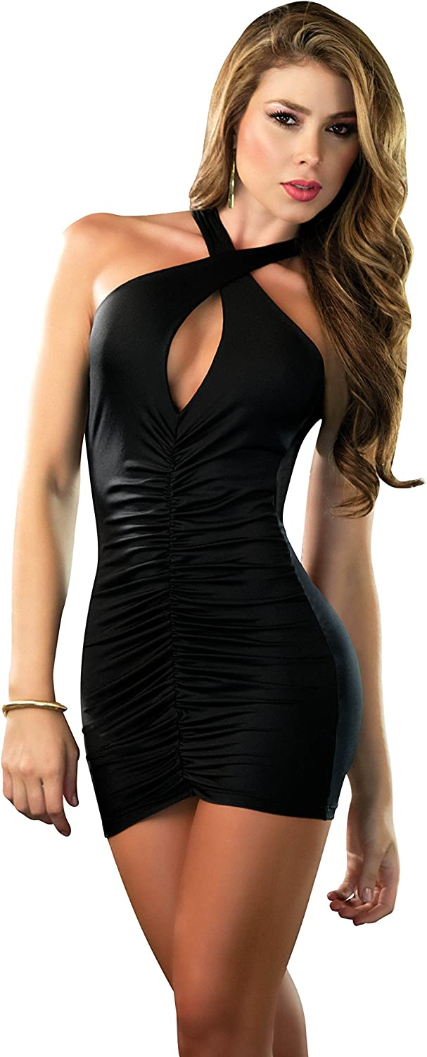 Mapal/é by Espiral Womens Figure Flattering Ruched Dress
