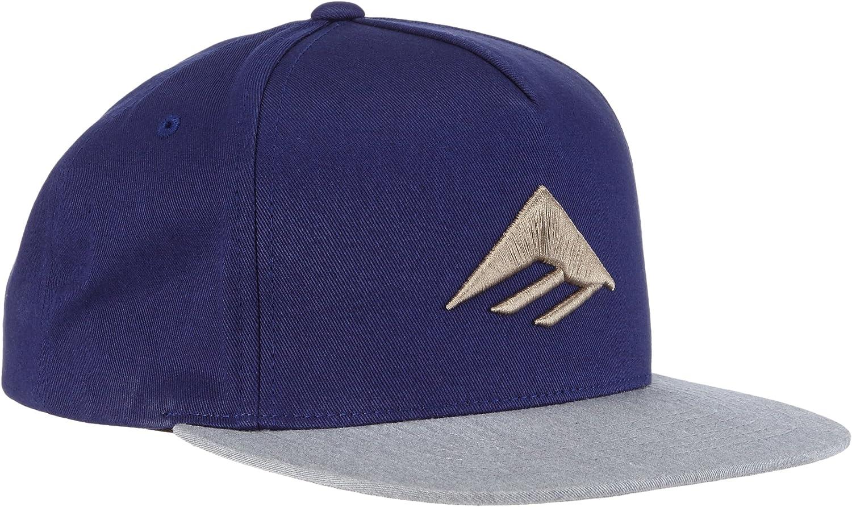 Emerica Mens Triangle Snapback Cap