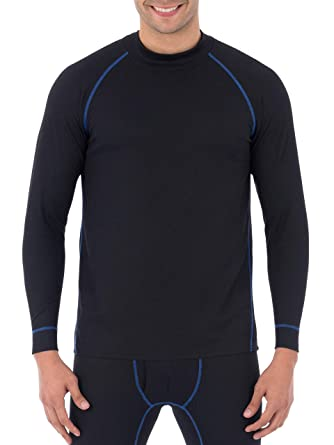 Russell Performance Tech Grid Baselayer Thermal Crew Top - Black