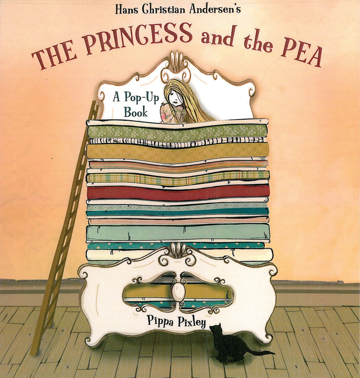 princess and the pea book. The Princess And Pea: A Pop-Up Book (Fairytale Pop-ups): Hans Christian Andersen, Pippa Pixley: 9781857078169: Amazon.com: Books Pea